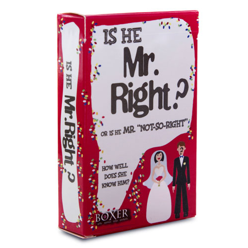 Is He Mr Right