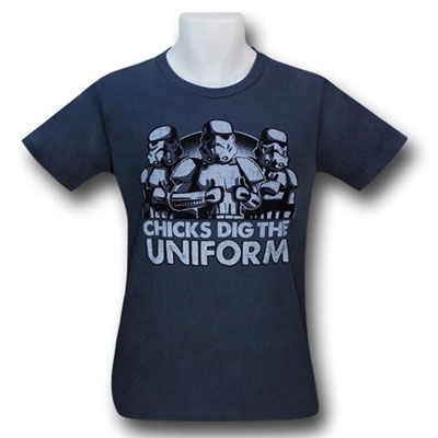 Chicks Dig The Uniform Tshirt