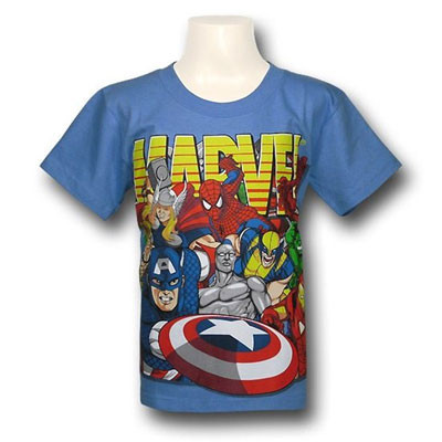 Marvel Heroes Junior Tshirt