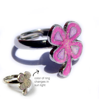 Clover Leaf Magic Ring