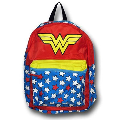 Wonder Woman Backpack With Cape