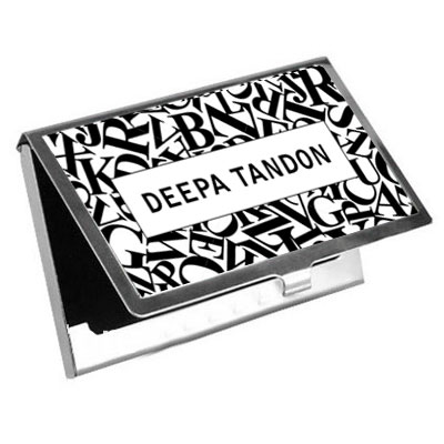 Name Business Cards Holder