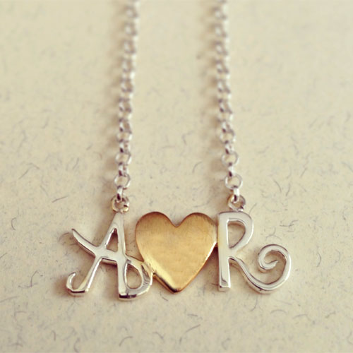 sterling range of product silver from jewellery disc personalised you flo for com just pendant necklace initial our gold rose oodlique the london by lily