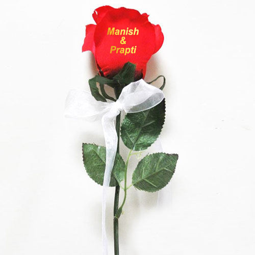 Message On A Rose