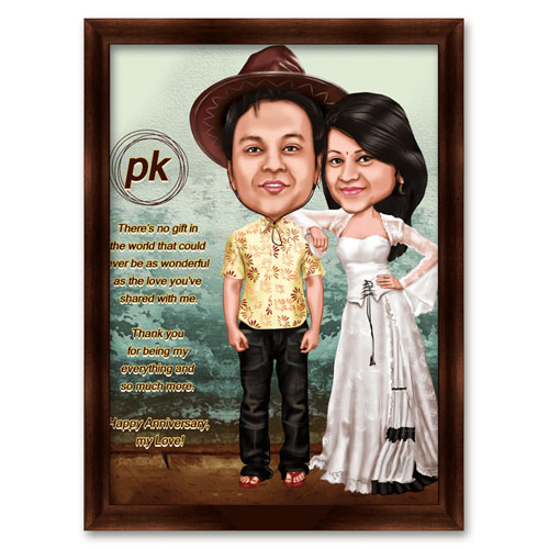 Bollywood Caricature PK