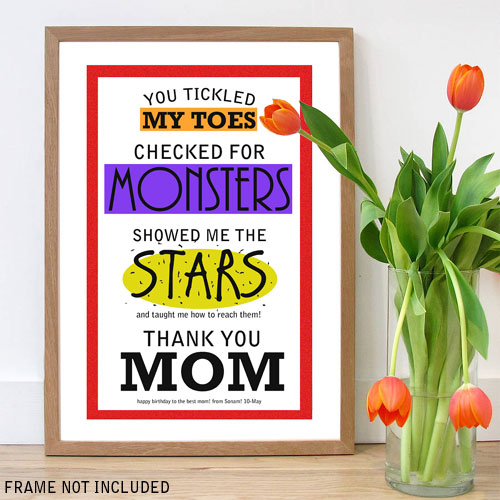 Thank You Mom Poster