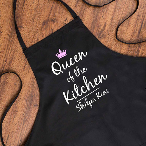 queen personalised a kitchen free size rs 599 gifts ideas in india - Kitchen Gift Ideas For Mom