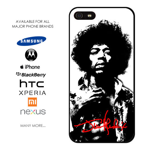 Jimi Hendrix Signature Phone Cover