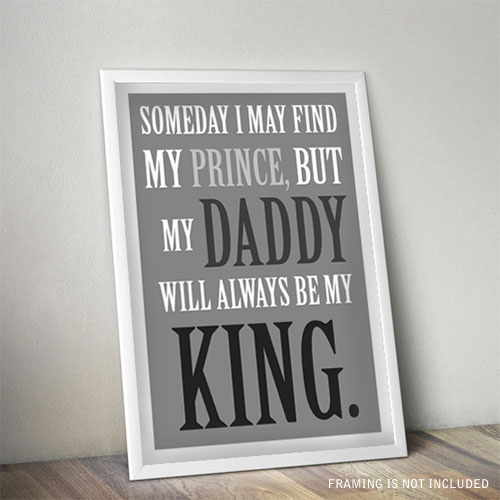 Daddy Is King Poster