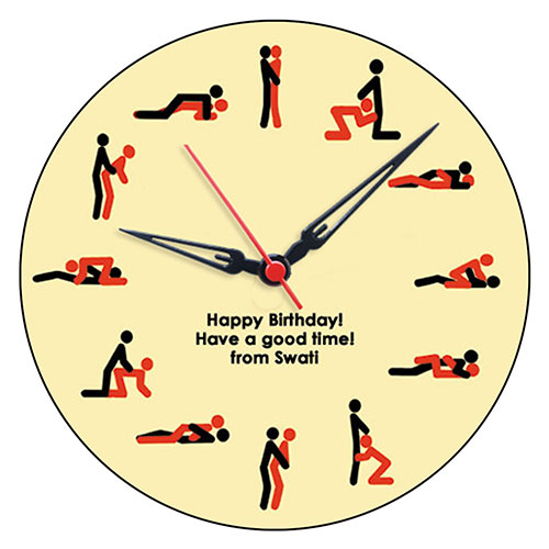 kama sutra clock   personalised clocks   rs 699 gifts