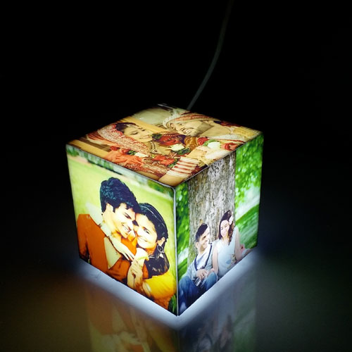 Personalised Lamps Photo Decorative
