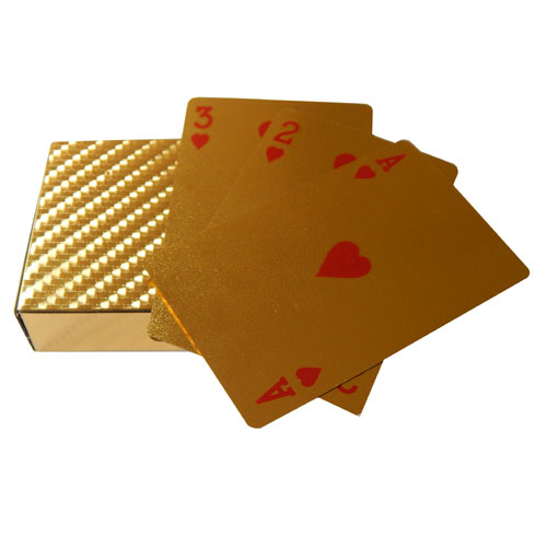 Gold Plated Playing Cards Deck