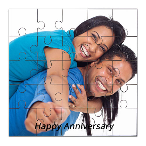 Personalised Jigsaw Puzzle Wooden - photo puzzle - Rs.699 : birthday anniversary gifts