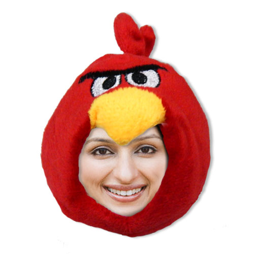 Angry Bird Personalised Doll