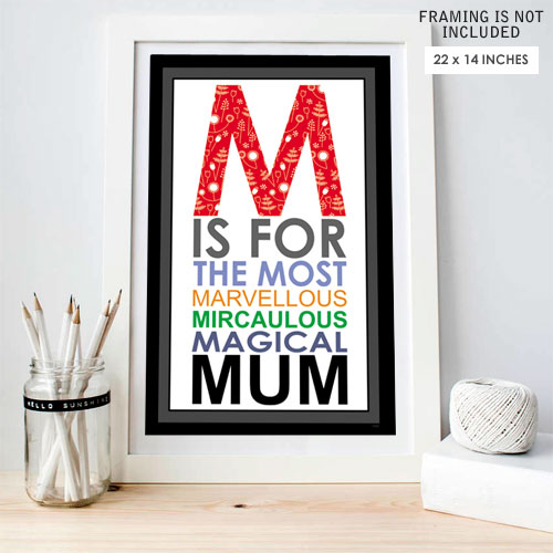 Magical Mum Poster Print