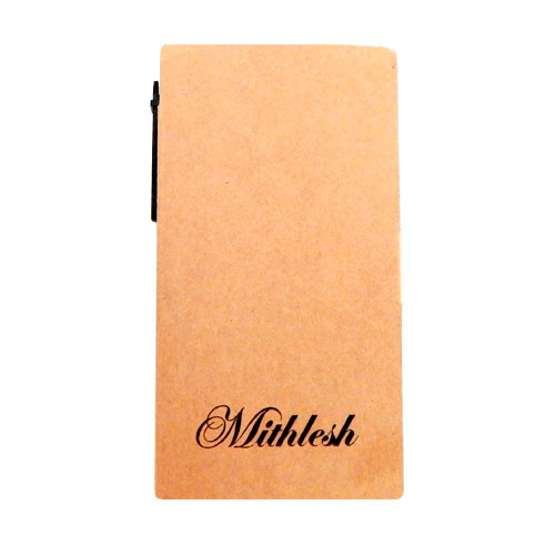 Personalised Notepad With Pen