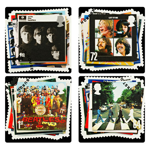 Beatles Covers Coasters Set