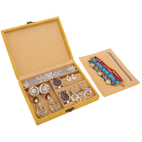Earrings And Jewellery Box