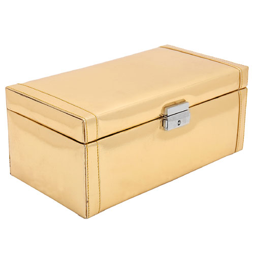 Golden Jewellery Box