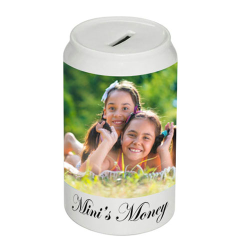 Personalised Slim Money Bank