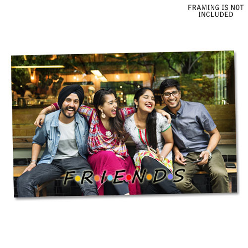Friends Personalised Poster