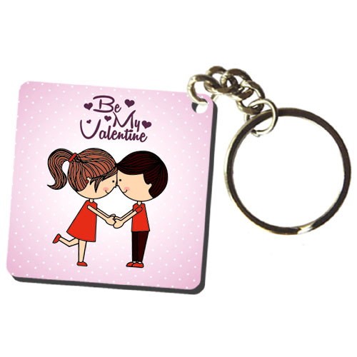 Be My Valentine Keychain