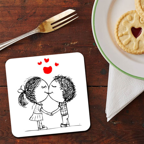 Love And Kisses Coaster