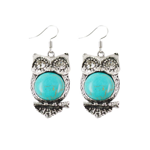 Funky Owl Earrings