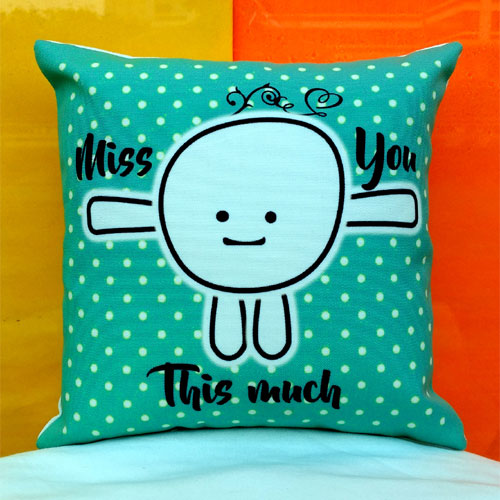 Miss You Cushion