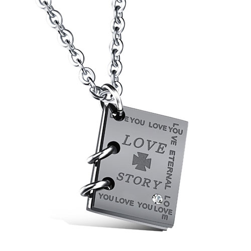 Love Story Pendant Necklace