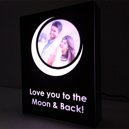Love Personalised Lamp