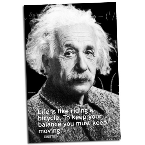 Einstein Motivational Poster