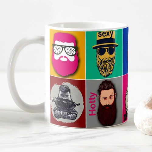 I Love Beards Mug
