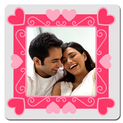 Love Frame Personalised Magnet