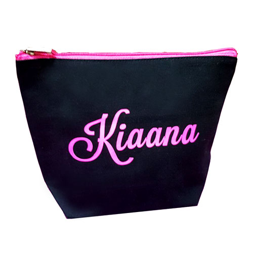 Love Pink Personalised Makeup Pouch
