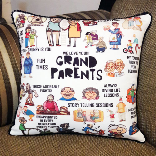Grand Parents Cushion