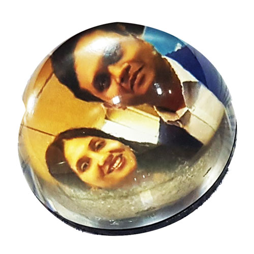 Photo Dome Paper Weight