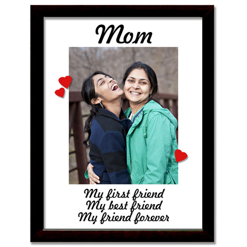 Best Friend Mom Personalised Frame