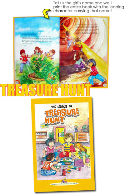 Personalised Book - Treasure Hunt
