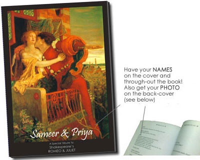 Romeo And Juliet Tribute Book