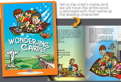 Personalised Book - Wondering Carpet