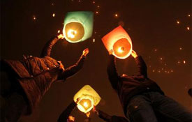 Sky lanterns