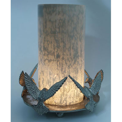 Dove Candle Stand