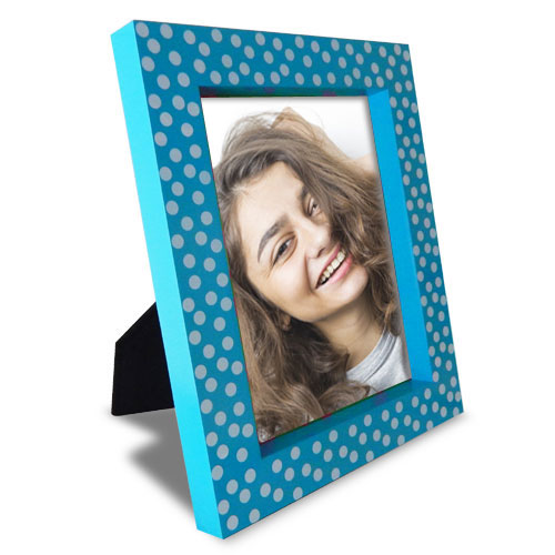 Polka Dots Personalised Frame