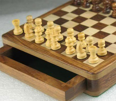 Portable Magnetic Chess