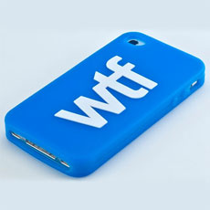 WTF iPhone Cover