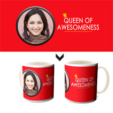 Queen Of Awesomeness Mug