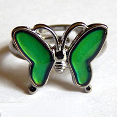Color Changing Butterfly Ring