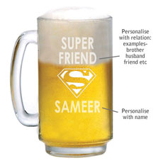 Super Personalised Beer Mug