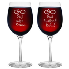 Personalised Wine Glasses